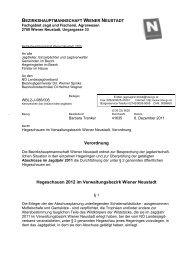 bezirkshauptmannschaft wiener neustadt - Stadtgemeinde Ebenfurth