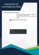ETIQUETAS HTML - Page 5