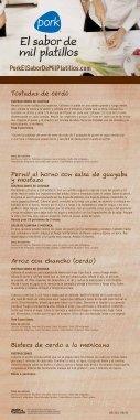 El Sabor de Mil Platillos - Cerdo - Page 2