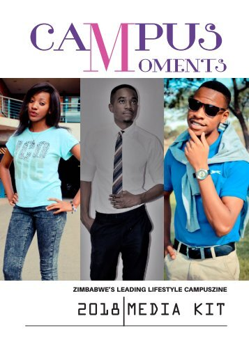 CAMPUS MOMENTS MAGAZINE PRESS KIT 2018