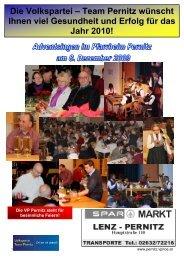 Die Volkspartei – Team Pernitz wünscht Ihnen viel Gesundheit und ...
