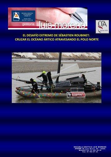 EL DESAFÍO EXTREMO DE SÉBASTIEN ROUBINET, CRUZAR EL OCÉANO ÁRTICO ATRAVESANDO EL POLO NORTE - Nauta360