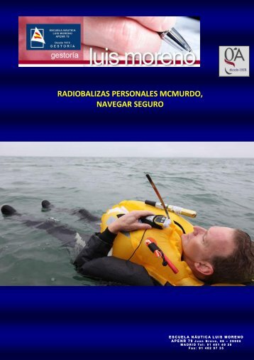 RADIOBALIZAS PERSONALES MCMURDO, NAVEGAR SEGURO - Fondear.org