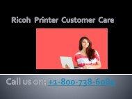 ricoh printer customer care pdf