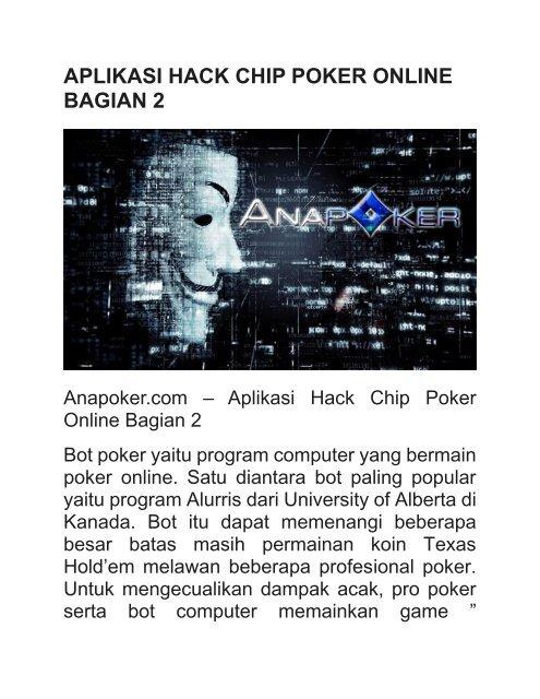 Aplikasi Hack Chip Poker Online Bagian 2