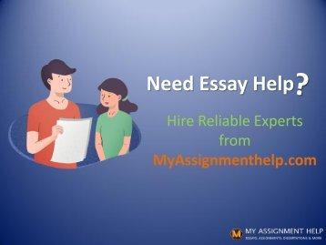 Myassignmenthelp.com team of essay helpers online