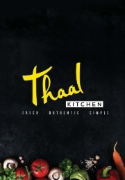 Thaal Menu small