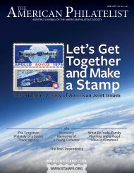 The American Philatelist - January 2018