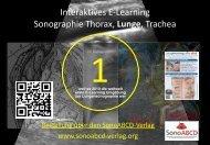 Weltweit 1. interaktives E-Learning zur Lungensonographie (2010)