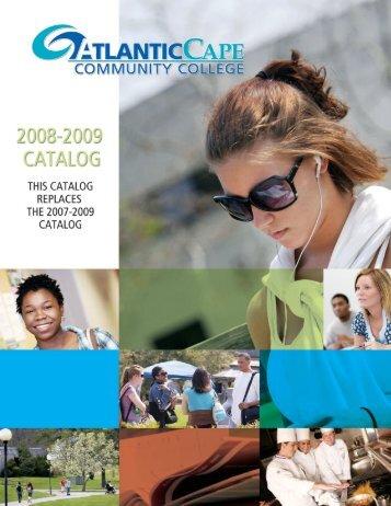 option liberal arts, associate in science - Atlantic Cape Community ...