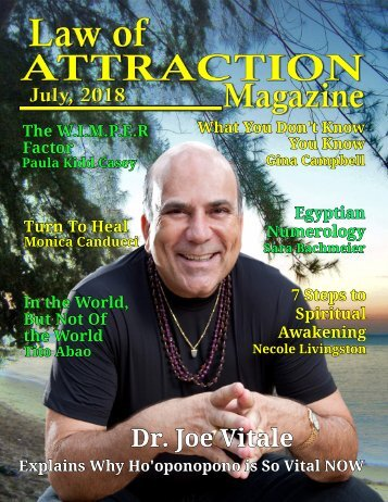 Law of Attraction Magazine - July 2018