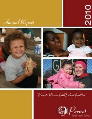 Annual Report - Pernet Family Health Service