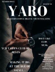 Yaro Magazine