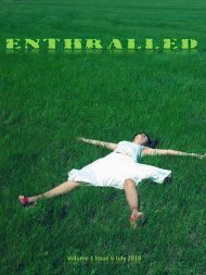 Enthralled Magazine Vol 1 Issue 6 - Dream