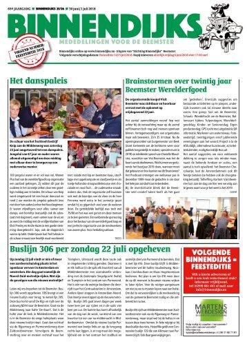Binnendijks 2018 25-26