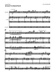 Colin Broom - Nightcreeper (Score)