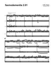 Colin Broom - Faxmodementia 2.01 (score)