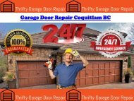Garage Door Repair Coquitlam BC