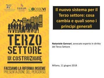 Slide Facciamo la Riforma insieme I incontro Milano 11 giugno  2018