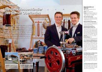 Jungunternehmer Die Delikatessenhändler des Berner Oberlandes