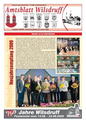 Ausgabe Februar 2009 - Stadt Wilsdruff