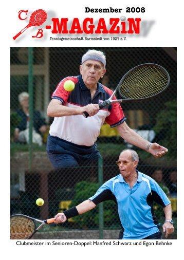 Dezember 2008 - Tennisgemeinschaft Barmstedt