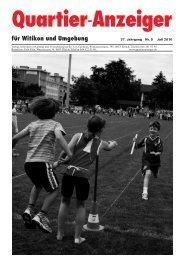 Ausgabe 5, Juli 2010 - Quartier-Anzeiger Archiv - Quartier-Anzeiger ...