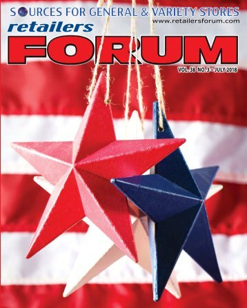 Retailers Forum Magazine JULY 2018