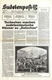 Tschechen machen sudetendeutsche Häuser zu ... - Sudetenpost