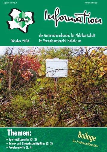 (S. 2) • Baum- und Strauchschnittplätze
