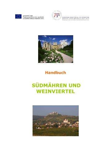 Manual verze CD DE - Centrála cestovního ruchu - Jižní Morava