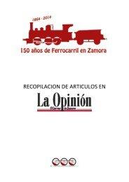 150 Aniversario del Ferrocarril en Zamora