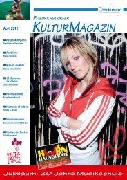 Jubiläum: 20 Jahre Musikschule - MEDIAtur