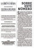 La Sirena Varada: Año II, Número 8 - Page 2
