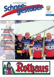 SCHWARZWÄLDER - Skiverband Schwarzwald