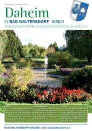 Ausgabe Juli 2011 - Gemeinde Bad Waltersdorf