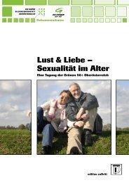 Lust & Liebe – Sexualität im Alter