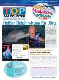 Heißer Delphin-Kuss für Jörg - top am counter