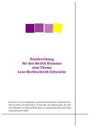 Handreichung für den Bezirk Braunau zum Thema Lese ...