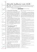 Der Beitrag gibt einen Überblick über die jüngere Rsp des OGH zum ... - Seite 2