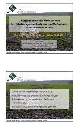 Möglichkeiten und Grenzen von betriebsbezogenen Analysen und ...