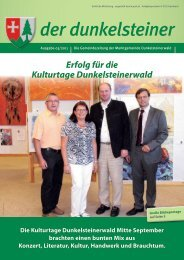 (9,09 MB) - .PDF - Marktgemeinde Dunkelsteinerwald