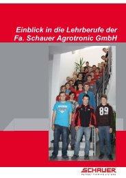 Lehrberuf - Schauer Agrotronic GmbH