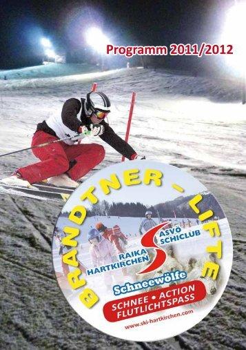 Programm 2011/2012 - Schiclub Raika Hartkirchen
