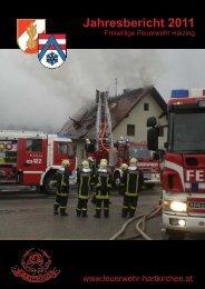 Jahresbericht 2011 - Feuerwehren von Hartkirchen