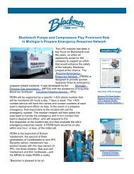 Blackmer® Pumps and Compressors Play Prominent ... - PSG Dover