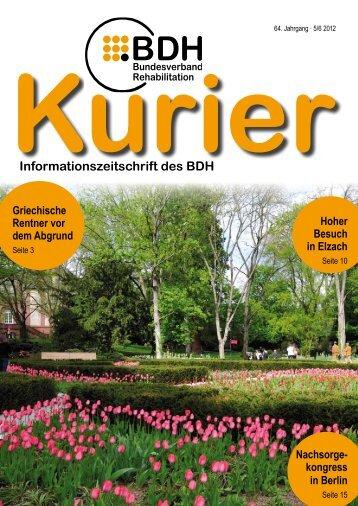 Ausgabe 5/6 2012 - BDH
