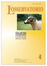 osservatorio - IZS della Lombardia e dell'Emilia Romagna