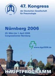 der Deutschen Gesellschaft für Pneumologie - 47. Kongress der ...