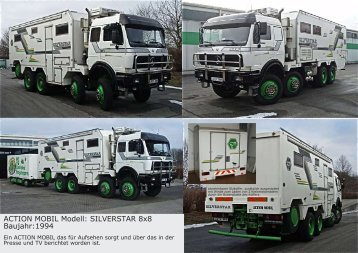 ACTION MOBIL Modell: SILVERSTAR 8x8 Baujahr:1994